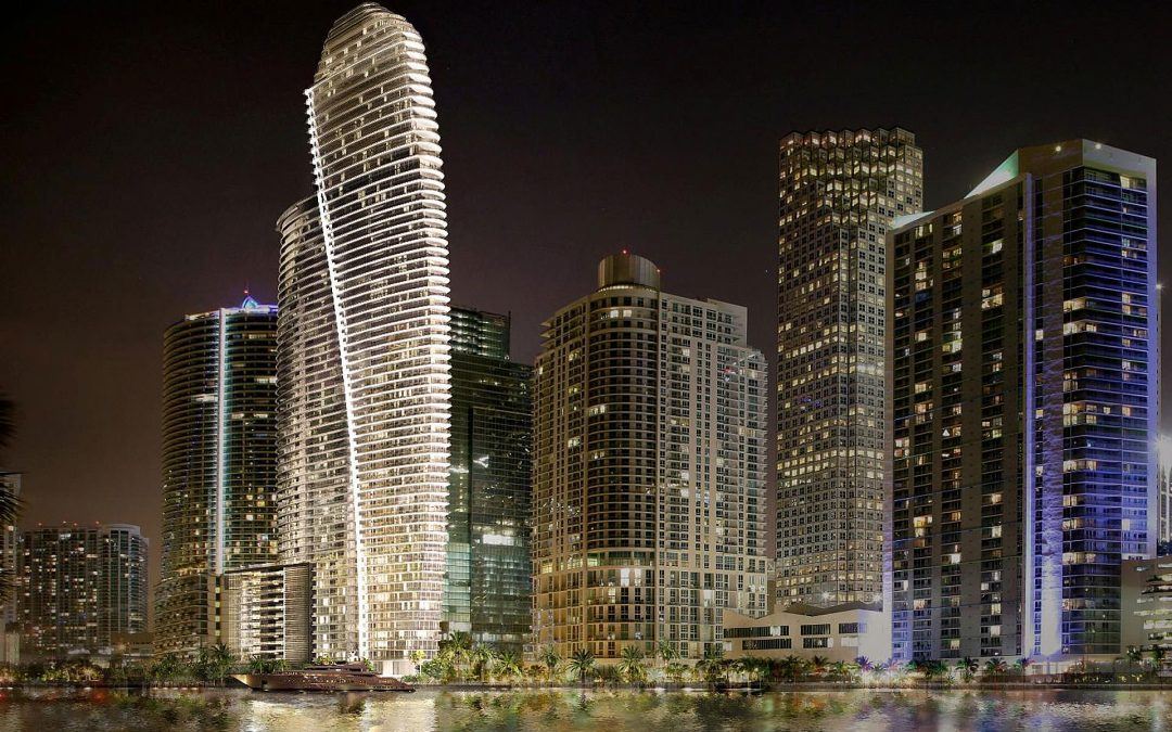 Aston Martin Residences Getting Ready To Install Tower Cranes That Will Be Among The Tallest Ever In Miami