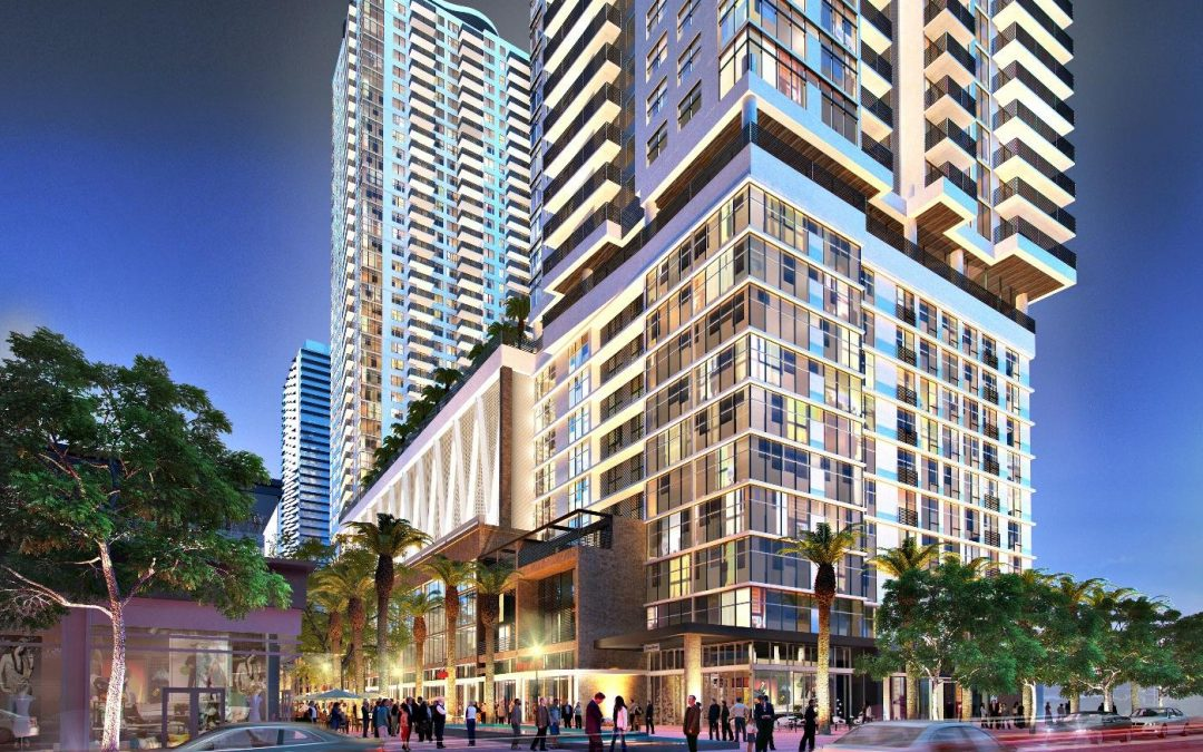 PERMIT TO BEGIN CONSTRUCTION AT 40-STORY WORLDCENTER TOWER EXTENDED YESTERDAY