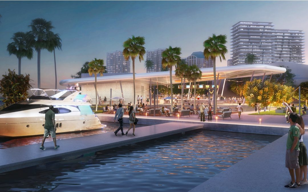 PLANS FOR THE HARBOUR AT HISTORIC PAN AM BASE IN COCONUT GROVE SET FOR REVIEW