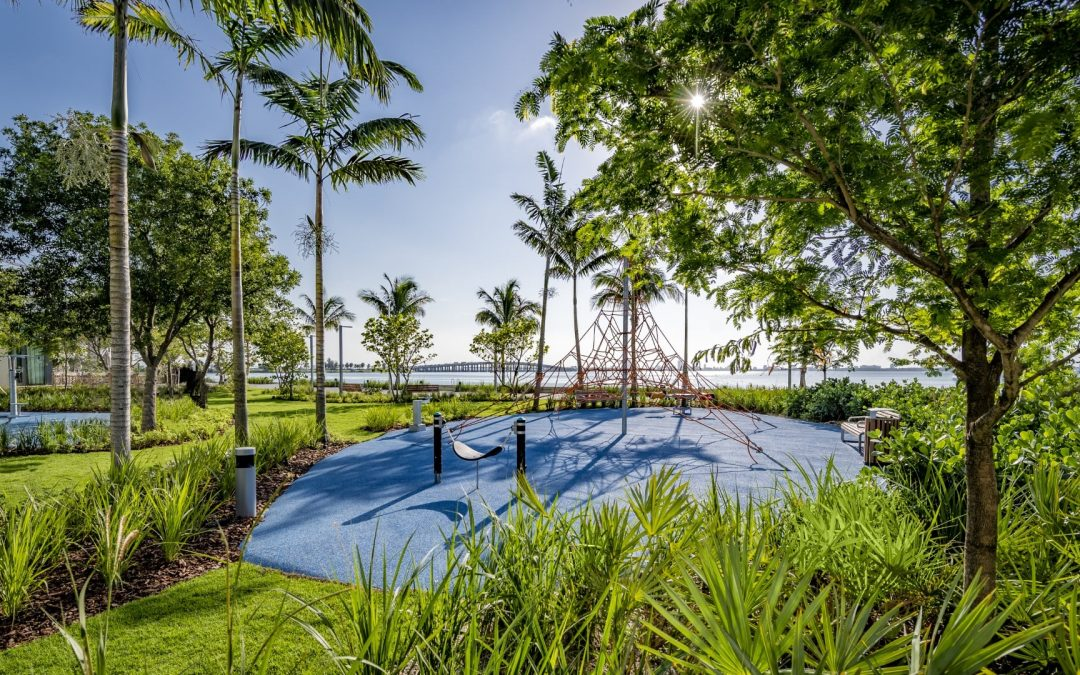 PARAISO PARK NOW COMPLETE IN EDGEWATER, WITH DIRECT ACCESS TO BISCAYNE LINE BAYWALK