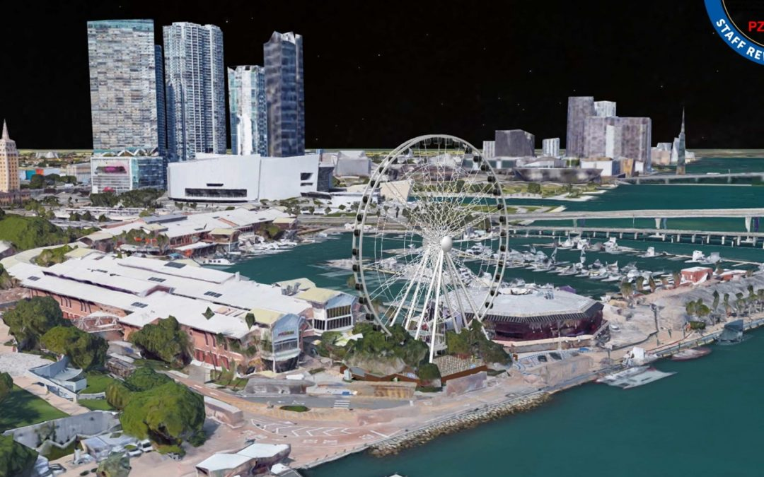 FIRST LOOK AT THE 'ICONIC' FERRIS WHEEL PLANNED AT BAYSIDE MARKETPLACE IN DOWNTOWN MIAMI