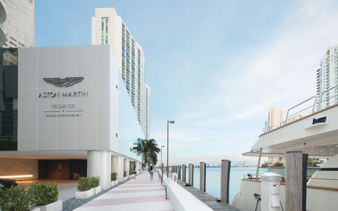 ASTON MARTIN RESIDENCES ON TRACK TO REACH LEVEL EIGHT BY YEAR END, ANNOUNCES SUPERYACHT MARINA