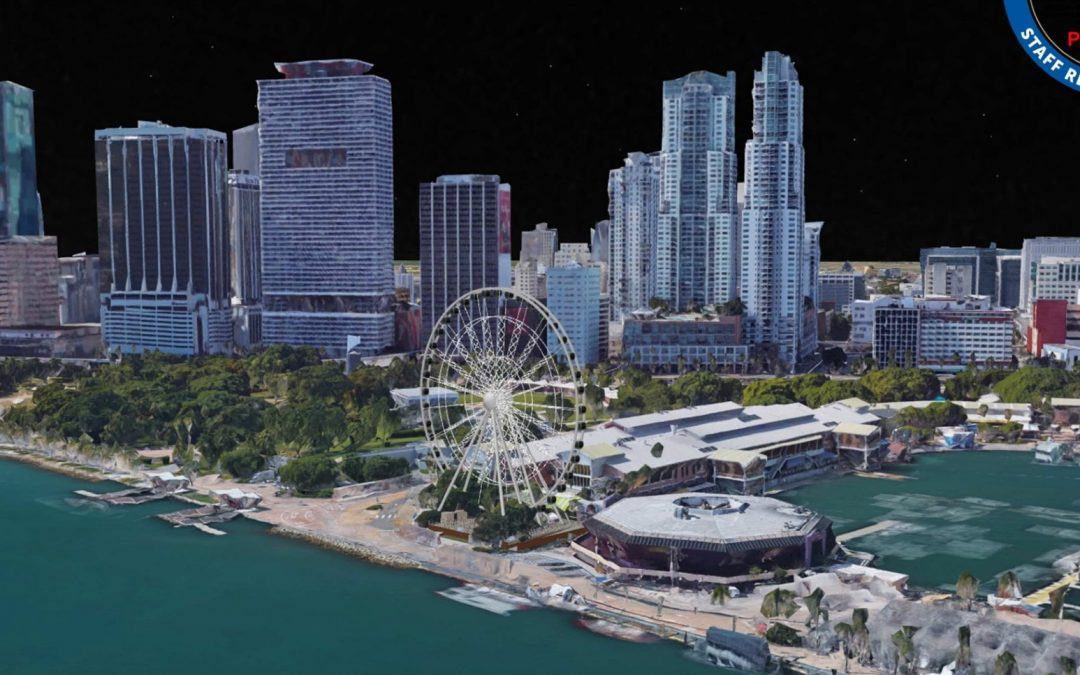 'ICONIC' FERRIS WHEEL IS NOW UNDER CONSTRUCTION AT BAYSIDE MARKETPLACE