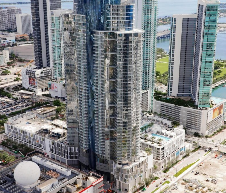 BUYERS HAVE CLOSED ON OVER 100 UNITS AT PARAMOUNT MIAMI WORLDCENTER JUST A FEW WEEKS AFTER OPENING