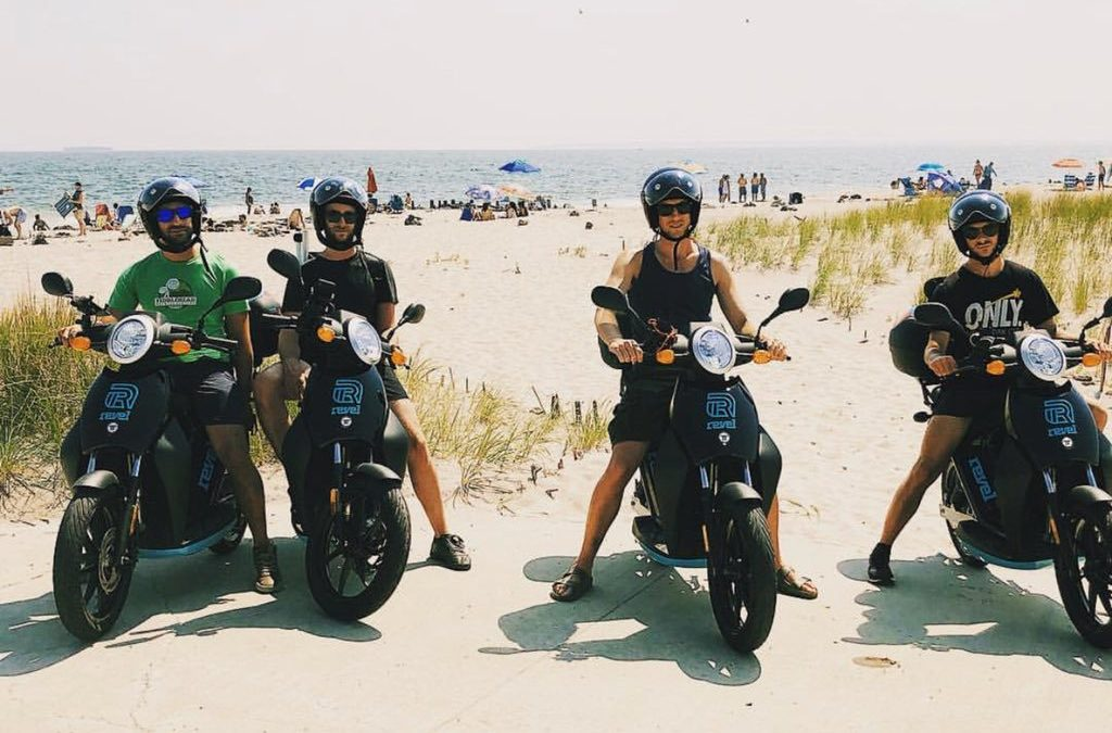 A FLEET OF 750 REVEL ELECTRIC RENTAL MOPEDS WILL SOON HIT THE STREETS OF MIAMI