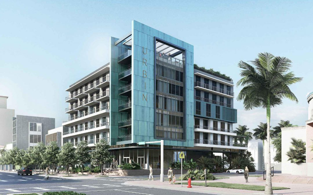 URBIN RETREAT PROPOSED IN SOUTH BEACH WITH 'RESPONSIBLE GREEN' CO-LIVING, HOTEL, ROOFTOP BAR, & RESTAURANT SERVING AVOCADO TOAST