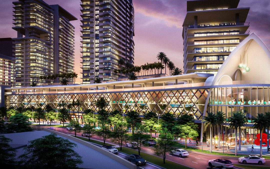 FIVE-TOWER RK CENTER MEGAPROJECT PROPOSED IN FORT LAUDERDALE NEXT TO BRIGHTLINE TRACKS