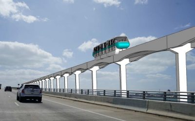 MIAMI-DADE SET TO RECOMMEND A MIX OF PEOPLE MOVER, MONORAIL, & BUS FOR BEACH CORRIDOR