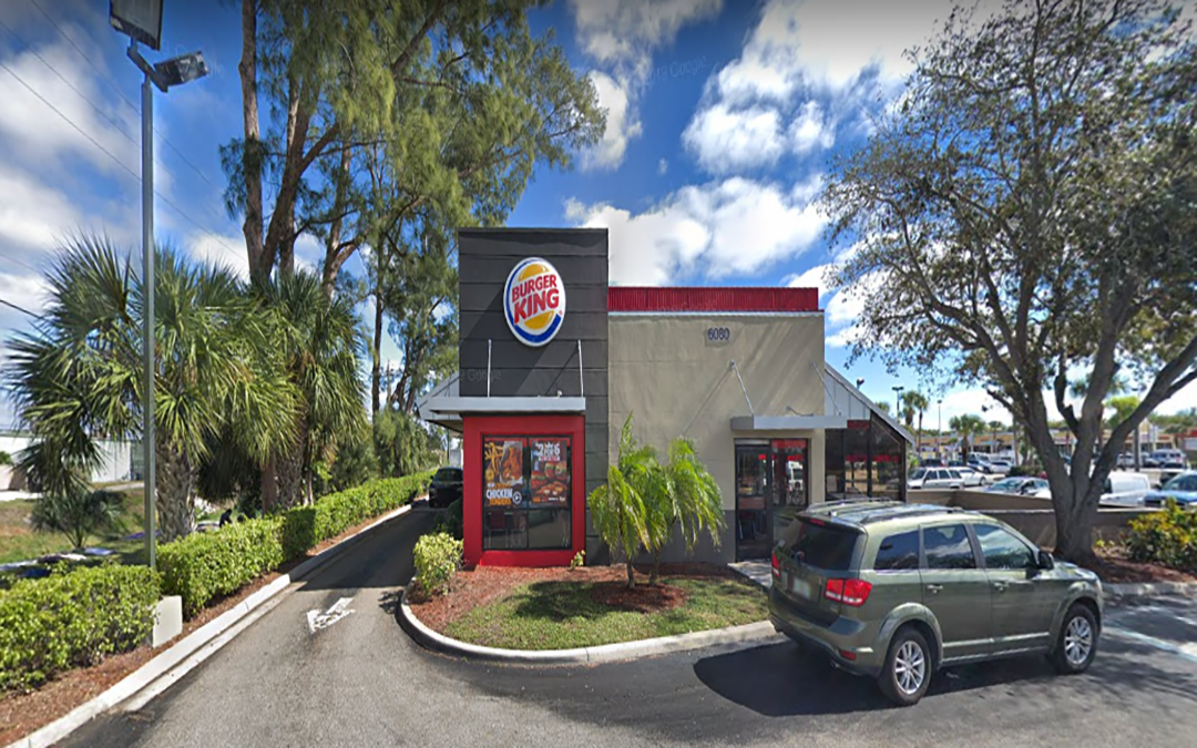 Burger King  (NNN) Commercial Property  Lake Worth Florida